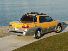 2004 Subaru Baja with SnugLid tonneau cover