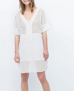 ZARA - SALE - EMBROIDERED DRESS