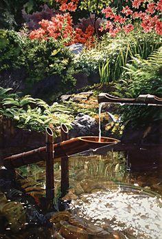 Japanese Garden, by Carol Evans
