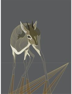 pookaqueen | graphic dik dik: art print