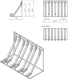 bike parking size zoning for bicycle parking green. Black Bedroom Furniture Sets. Home Design Ideas
