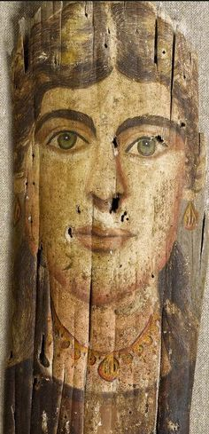 One of Fayum mummy portraits