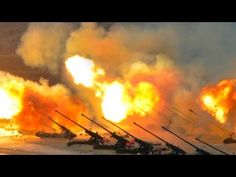 SHOW OF FORCE! BIGGEST LIVE FIRE exercise you'll ever see! 100s of tanks...