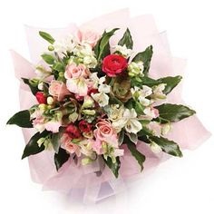 The temple bell stops but I still hear the sound coming out of the #flowers. In The Pink A delicate posy capturing the essence of femininity http://floristnz.co.nz http://ift.tt/1kokqRq