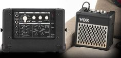 The VOX MINI series modeling amps are lightweight, compact, and battery-powered, offering realistic sound anytime, anywhere. The MINI5 Rhythm offers 11 amp sounds inherited from the popular and acclaimed Valvetronix series, plus eight effects and a new rhythm function.