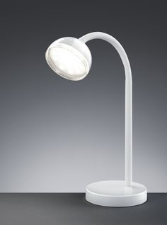 572810101 Trio - stolná LED lampa - biely plast - 350mm
