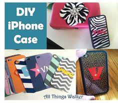 All Things Walker: DIY iPhone Cover