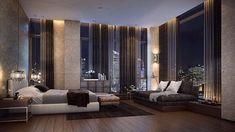 Modern Bedroom Furniture, Modern Bedroom Design, Contemporary Bedroom, Modern House Design, Home Decor Bedroom, Modern Houses, Mansion Interior, Dream House Interior, Luxury Homes Dream Houses
