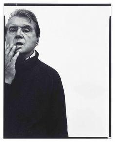 Richard Avedon, Francis Bacon, Paris, 11 April 1979