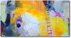«Spring desire» – akryl på lerret - 153x81 cm.  Kunstner - Ira Ivanova.  Original - utstilt hos Galleri SG.  Tilgjengelig som kunsttrykk