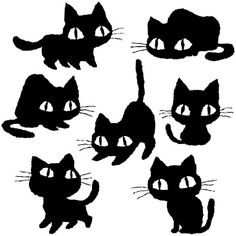 Cats of various on Behance