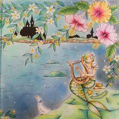Romantic Country Coloring book...By @shizuzuzu.k