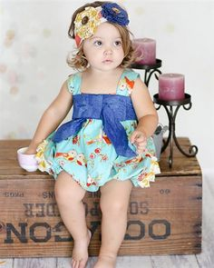 Giggle Moon New Song Betty Bubble Romper Spring 2015 Preorder