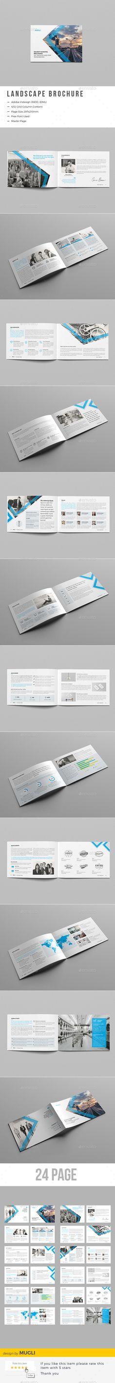 Business Brochure Template InDesign INDD. Download here: http://graphicriver.net/item/business-brochure/15539125?ref=ksioks