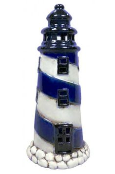 Lighthouse, seaside and coastal decor and maritime themed gifts for home, bathroom, garden or boat. Lighthouse For Sale, Clay Pot Lighthouse, Lighthouse Gifts, Lighthouse Decor, Lighthouse Painting, Seaside Decor, Coastal Decor, Best Bridal Shower Gift, Driftwood Wall Art