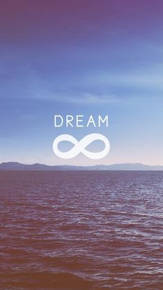 Dream + Infinity | free ocean waves iPhone wallpaper