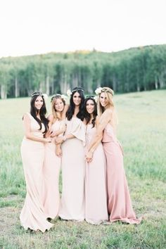 This Bride's Dress Nails The Bohemian Chic Vibe
