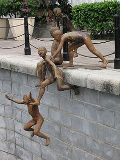 Chong Fah Cheong - I'm quite sure I saw this sculpture sailing around in Singapore... :)