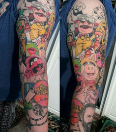 Muppett tattoos - these people are true fans!
