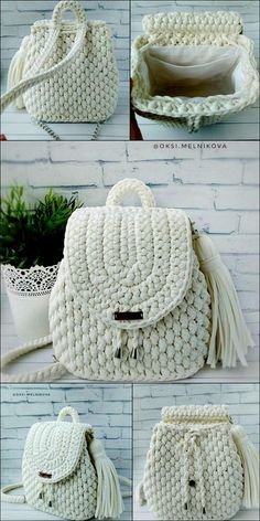 And Quick In Making Free crochet Patterns – DIY Rustics And Quick In Making Free crochet Patterns – DIY Rustics,Crochet Patterns Stylish University Bag Free crochet Pattern Related posts:Easy Crochet Patterns Perfect. Crochet Backpack Pattern, Free Crochet Bag, Crochet Market Bag, Bag Pattern Free, Diy Crochet, Crochet Crafts, Crochet Bags, Simple Crochet, Diy Crafts