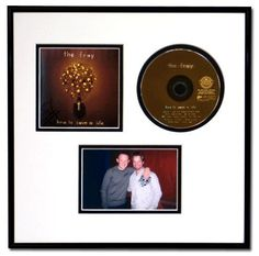CD Jacket Cover Picture Frame