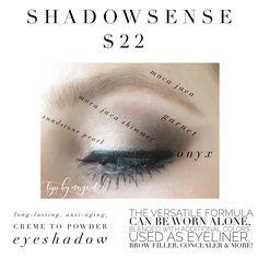 ShadowSense by SeneGence / Lips by Margaret