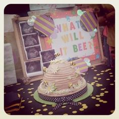 baby / gender reveal party -- what will I bee?