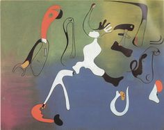 """Mirò, """"Painting"""" march-june 1933."""