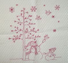 Cottons 'n Wool: Tutorial - Embroidery using Sandcastle or other heavy fabric