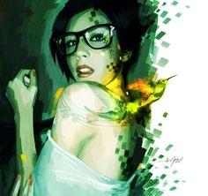 Inspiring Art by Javier Gonzalez Pacheco  | illustration inspiration | digital media arts college | www.dmac.edu | 561.391.1148