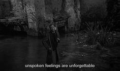 """""""Unspoken feelings are unforgettable."""" Nostalghia (Andrei Tarkovsky, 1983)"""