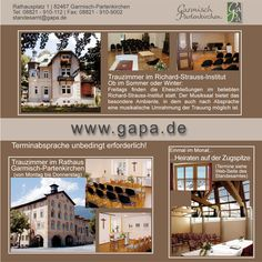 Registry office Garmisch-Partenkirchen     Wedding possibilities