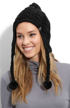 The North Face Fuzzy Earflap Beanie | Nordstrom