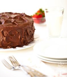 """""""The Best Ever – Blue Ribbon Winning – Chocolate Layer Cake – In All The Land""""!"""