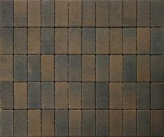 Black - brown paving pads.
