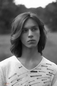 Long hair gay boy