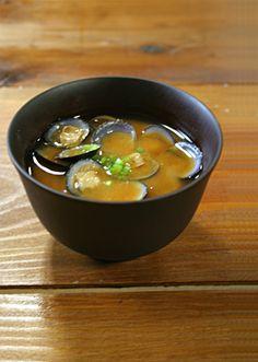 Clam miso soup
