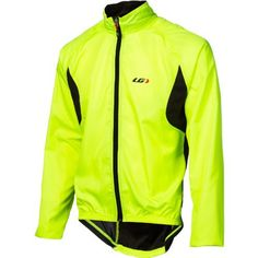 Louis Garneau Men's Modesto 2 Jacket Bright Yellow Large - http://ridingjerseys.com/louis-garneau-mens-modesto-2-jacket-bright-yellow-large/