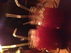 Jammy bastards! delicious, fruity cocktails at Vodka Revolution, taste like jam - could be dangerous!