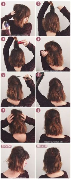 Love Up hairstyles for long hair? wanna give your hair a new look? Up hairstyles for long hair is a good choice for you. Here you will find some super sexy Up hairstyles for long hair, Find the best one for you, Down Hairstyles, Pretty Hairstyles, Wedding Hairstyles, Hairstyle Ideas, Everyday Hairstyles, Hairstyle Tutorials, Sweet Hairstyles, Simple Hairstyles, Hairstyles For Bobs