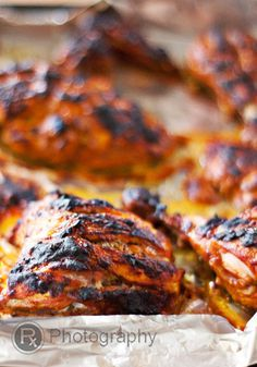 Tandoori Chicken by rx4foodies: Grill or oven. #Chicken #Tandoori