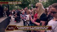 NUEVA YORK CONMEMORA 14 AÑOS DE LOS ATAQUES A LAS TORRES GEMELAS
