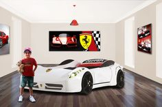 Fast Car Beds - High performance childrens bedroom furniture