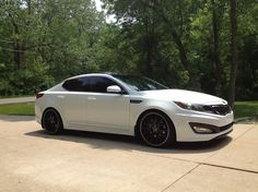 white kia optima with black rims | Another Matthew-Cole 2012 Kia Optima post...