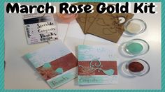 March Rose Gold Kit - YouTube