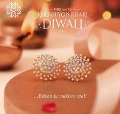 Fair Trade and Handmade Jewellery Diamond Earrings Indian, Diamond Jewelry, Gold Jewelry, Swarovski Jewelry, Diamond Bracelets, Jewelery, Gold Bangles Design, Gold Earrings Designs, Nose Ring Jewelry