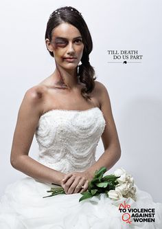 """""""Till Death do us part"""" - Apav Ad Campaign Agency: Lintas Portugal The ad shows a lot about domestic violence and how it needs raise it's awareness, helping those who can not help themselves."""