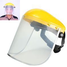 Adjustable Clear Face Mask Shield Visor Safety Workwear Eye Protection Gardening New Arrival #Affiliate