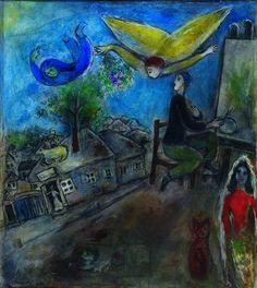 Marc Chagall - Between Surrealism & NeoPrimitivism - Entre Guerre et Paix