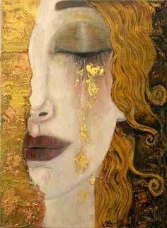 Gustav Klimt: Art Inspiration, Larme D Or, Anne Marie, Gustav Klimt, Gustav Klimt, Art Klimt, Art And Illustration, Illustrations, Painting Inspiration, Art Inspo, Art Amour, Psychedelic Art, Love Art